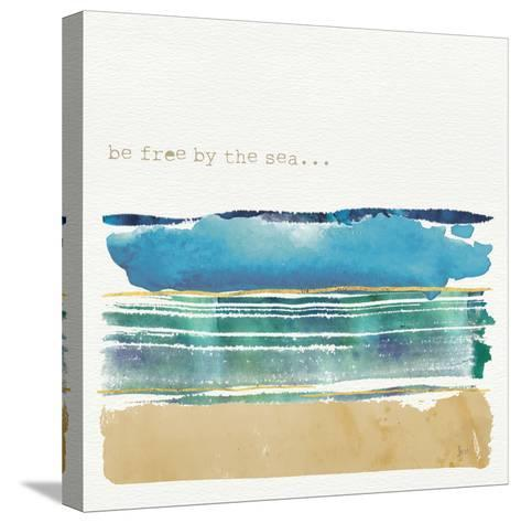 By the Sea I-Jess Aiken-Stretched Canvas Print