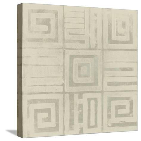 Geometric Tone on Tone III Dark-Kathrine Lovell-Stretched Canvas Print