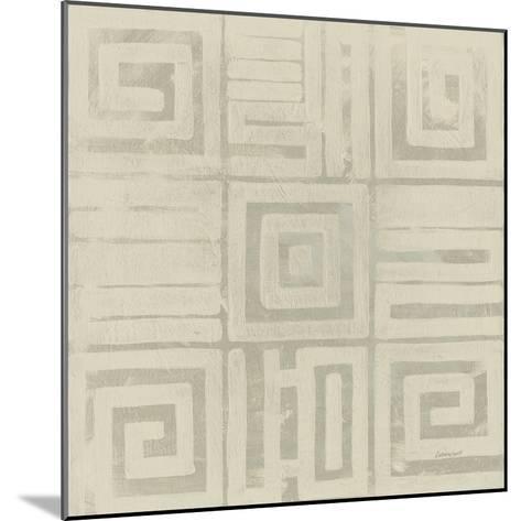 Geometric Tone on Tone III Dark-Kathrine Lovell-Mounted Art Print