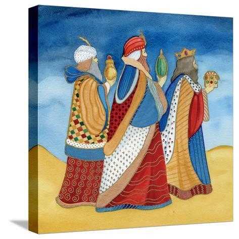 Christmas in Bethlehem I-Kathleen Parr McKenna-Stretched Canvas Print