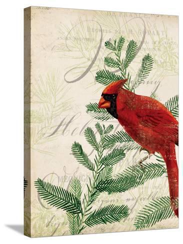 Vintage Noel II-Katie Pertiet-Stretched Canvas Print