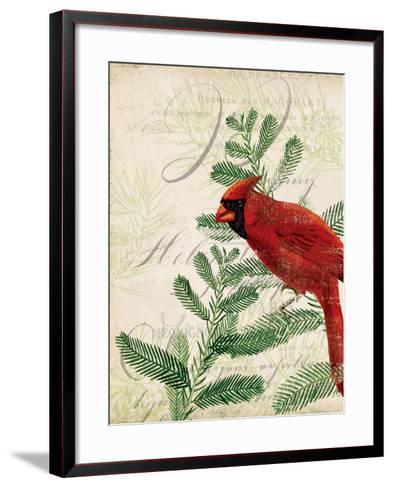 Vintage Noel II-Katie Pertiet-Framed Art Print