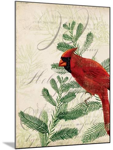 Vintage Noel II-Katie Pertiet-Mounted Art Print