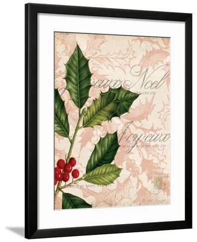 Vintage Noel I-Katie Pertiet-Framed Art Print