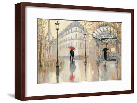 To the Metro-Julia Purinton-Framed Art Print