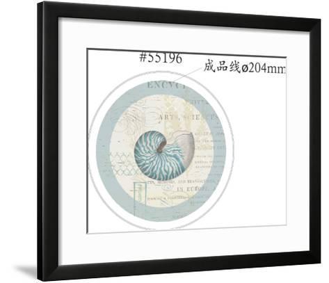 Beach Wonders 55196 Coupe Salad Plate [Converted]-Katie Pertiet-Framed Art Print