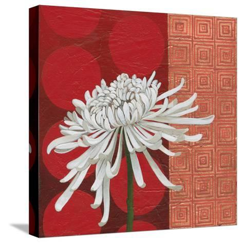 Morning Chrysanthemum II-Kathrine Lovell-Stretched Canvas Print