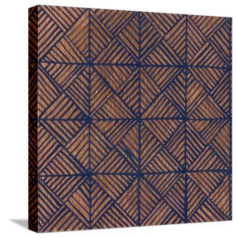 Copper Pattern II-Kathrine Lovell-Stretched Canvas Print