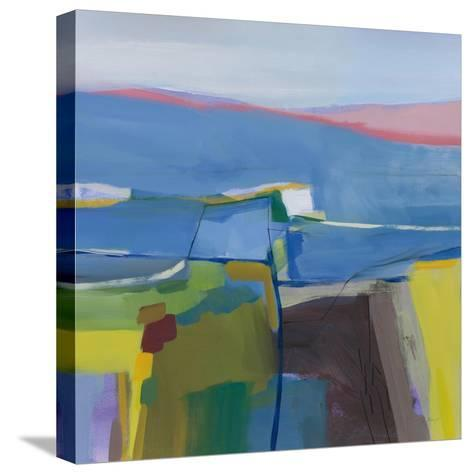 Hill Side-Jo Maye-Stretched Canvas Print