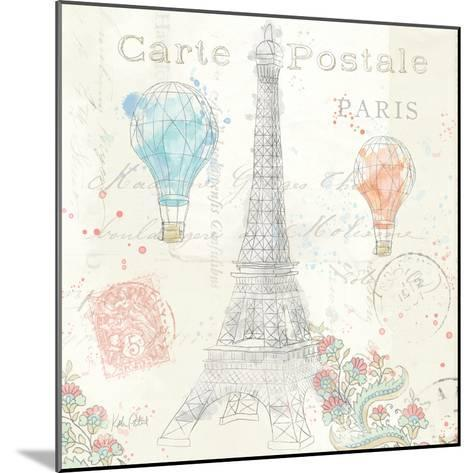 Lighthearted in Paris V-Katie Pertiet-Mounted Art Print