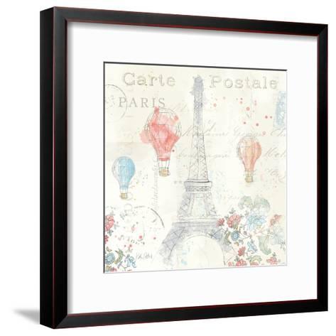 Lighthearted in Paris IV-Katie Pertiet-Framed Art Print