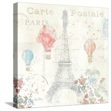 Lighthearted in Paris IV-Katie Pertiet-Stretched Canvas Print