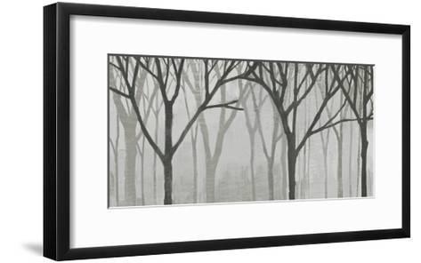 Spring Trees Greystone IV-Kathrine Lovell-Framed Art Print