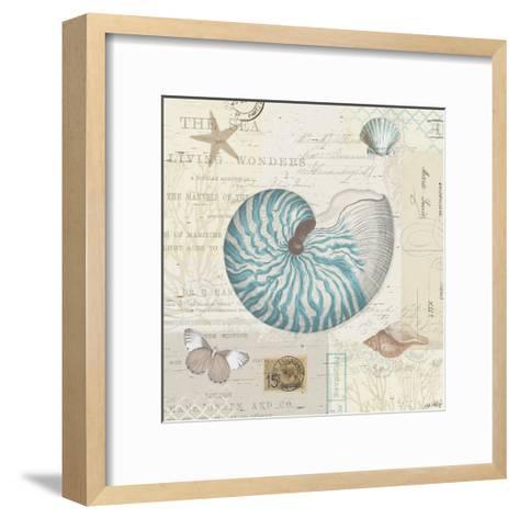 Beach Wonders IV-Katie Pertiet-Framed Art Print