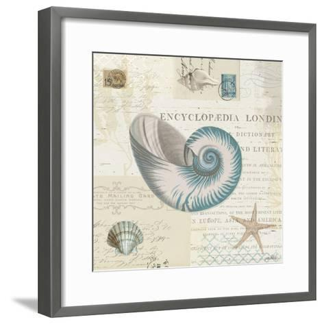 Beach Wonders III No Butterflies-Katie Pertiet-Framed Art Print