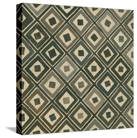 Diagonal Squares-Kathrine Lovell-Stretched Canvas Print