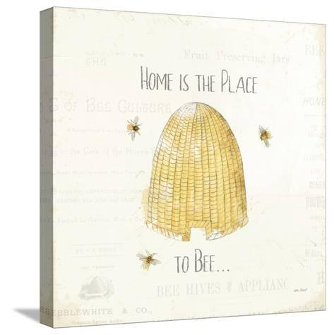 Bee and Bee II-Katie Pertiet-Stretched Canvas Print