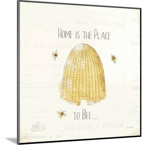 Bee and Bee II-Katie Pertiet-Mounted Art Print