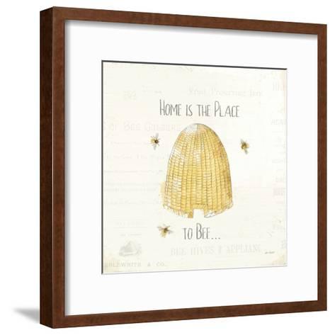 Bee and Bee II-Katie Pertiet-Framed Art Print
