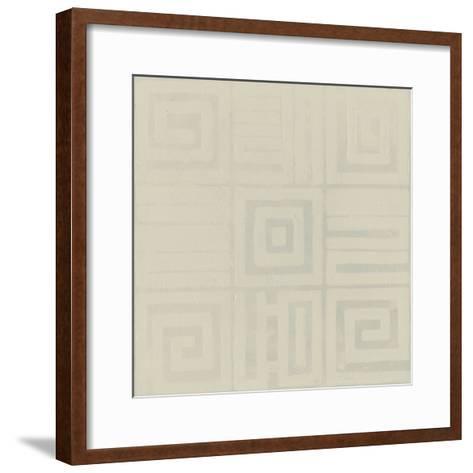 Geometric Tone on Tone III-Kathrine Lovell-Framed Art Print