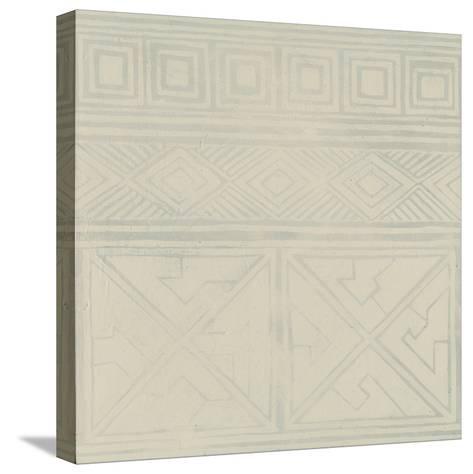 Geometric Tone on Tone I-Kathrine Lovell-Stretched Canvas Print