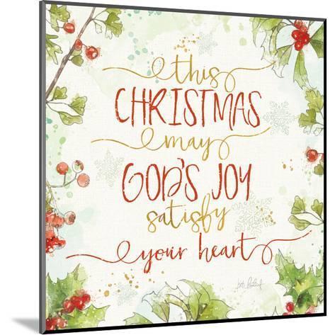 Christmas Sentiments III-Katie Pertiet-Mounted Art Print
