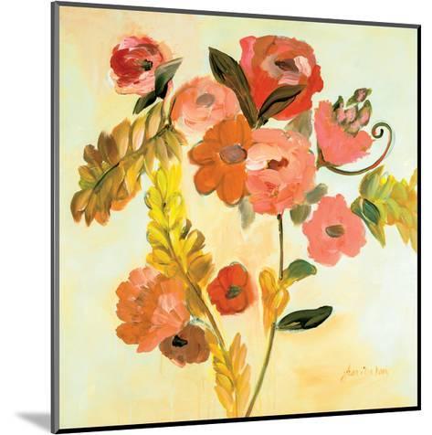 Romance Bouquet-Joan E Davis-Mounted Art Print