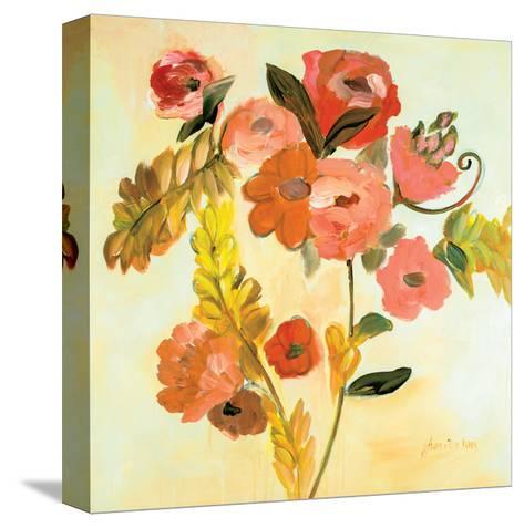 Romance Bouquet-Joan E Davis-Stretched Canvas Print