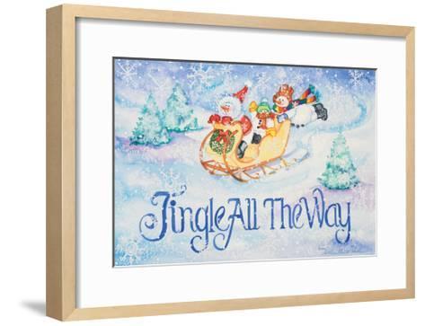 Jingle All the Way-Kathleen Parr McKenna-Framed Art Print