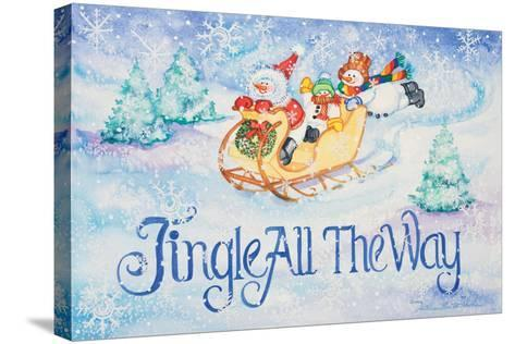 Jingle All the Way-Kathleen Parr McKenna-Stretched Canvas Print