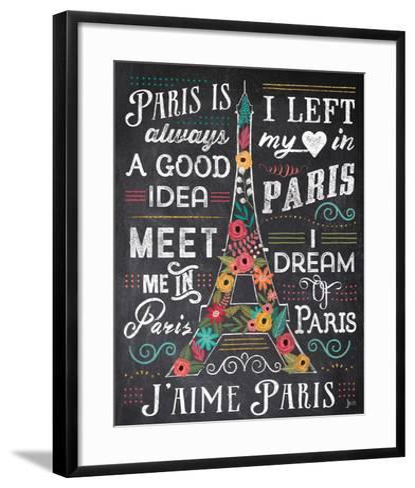 Travel Blossoms I-Jess Aiken-Framed Art Print