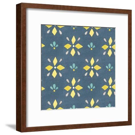 Garden Getaway Pattern VB-Laura Marshall-Framed Art Print