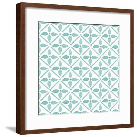Garden Getaway Pattern XIIA-Laura Marshall-Framed Art Print