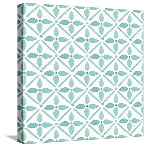 Garden Getaway Pattern XIIA-Laura Marshall-Stretched Canvas Print