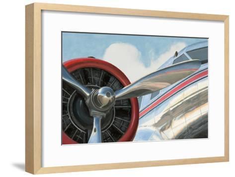Travel by Air I v2 No Words-Marco Fabiano-Framed Art Print