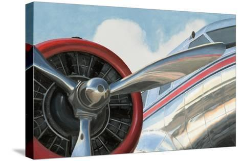 Travel by Air I v2 No Words-Marco Fabiano-Stretched Canvas Print