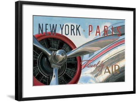 Travel by Air I V2-Marco Fabiano-Framed Art Print