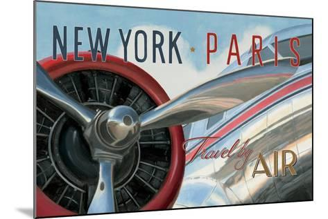 Travel by Air I V2-Marco Fabiano-Mounted Art Print