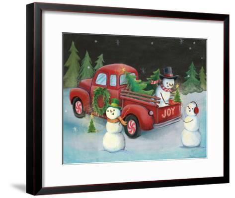 Christmas on Wheels II-Mary Urban-Framed Art Print