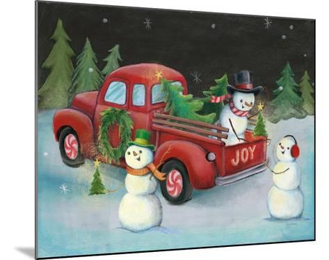 Christmas on Wheels II-Mary Urban-Mounted Art Print