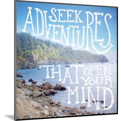 Coastal Adventures III-Laura Marshall-Mounted Art Print