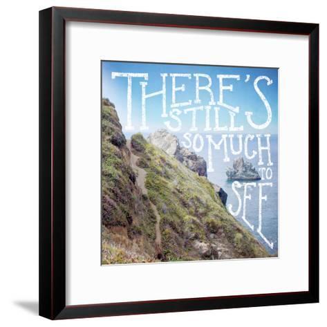 Coastal Advetures I-Laura Marshall-Framed Art Print