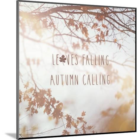 Autumn Calling I-Laura Marshall-Mounted Art Print