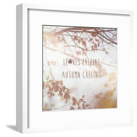 Autumn Calling I-Laura Marshall-Framed Art Print
