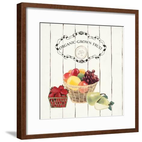Gone to Market Organic Grown Fruit-Marco Fabiano-Framed Art Print