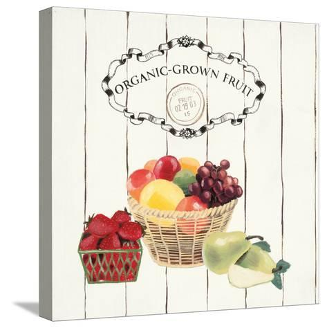 Gone to Market Organic Grown Fruit-Marco Fabiano-Stretched Canvas Print