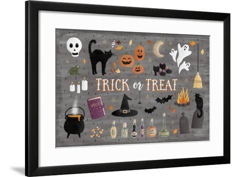 Haunted Halloween III-Laura Marshall-Framed Art Print