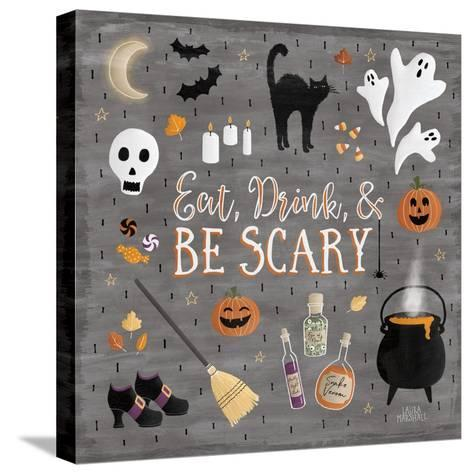 Haunted Halloween I-Laura Marshall-Stretched Canvas Print