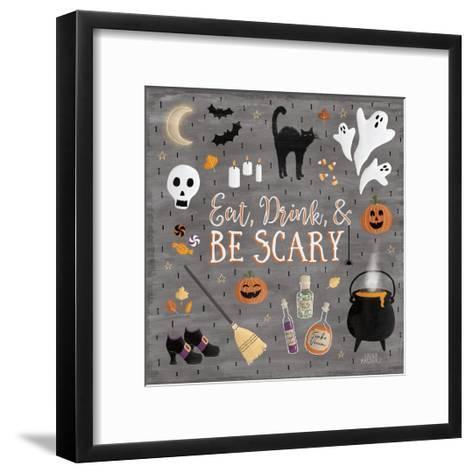 Haunted Halloween I-Laura Marshall-Framed Art Print