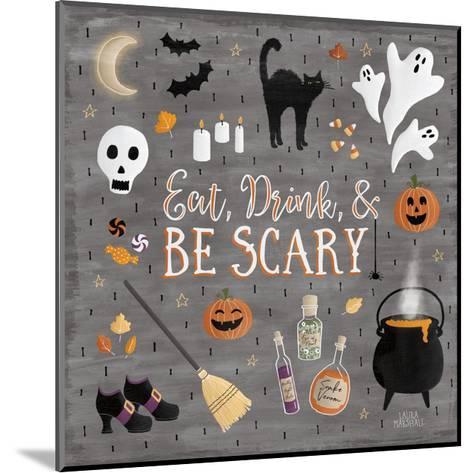 Haunted Halloween I-Laura Marshall-Mounted Art Print